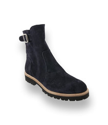 Confort Boots Lammfell schwarz